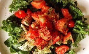 Salade_Laitue_tomate_épice